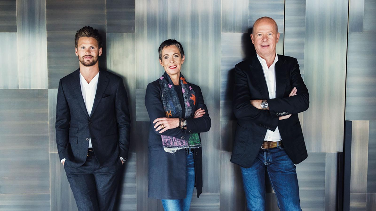 Das Team um Philipp Hoflehner, Ruth und Bernd Gruber