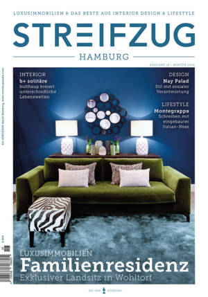 Streifzug Magazin Hamburg Winter 2016 Cover