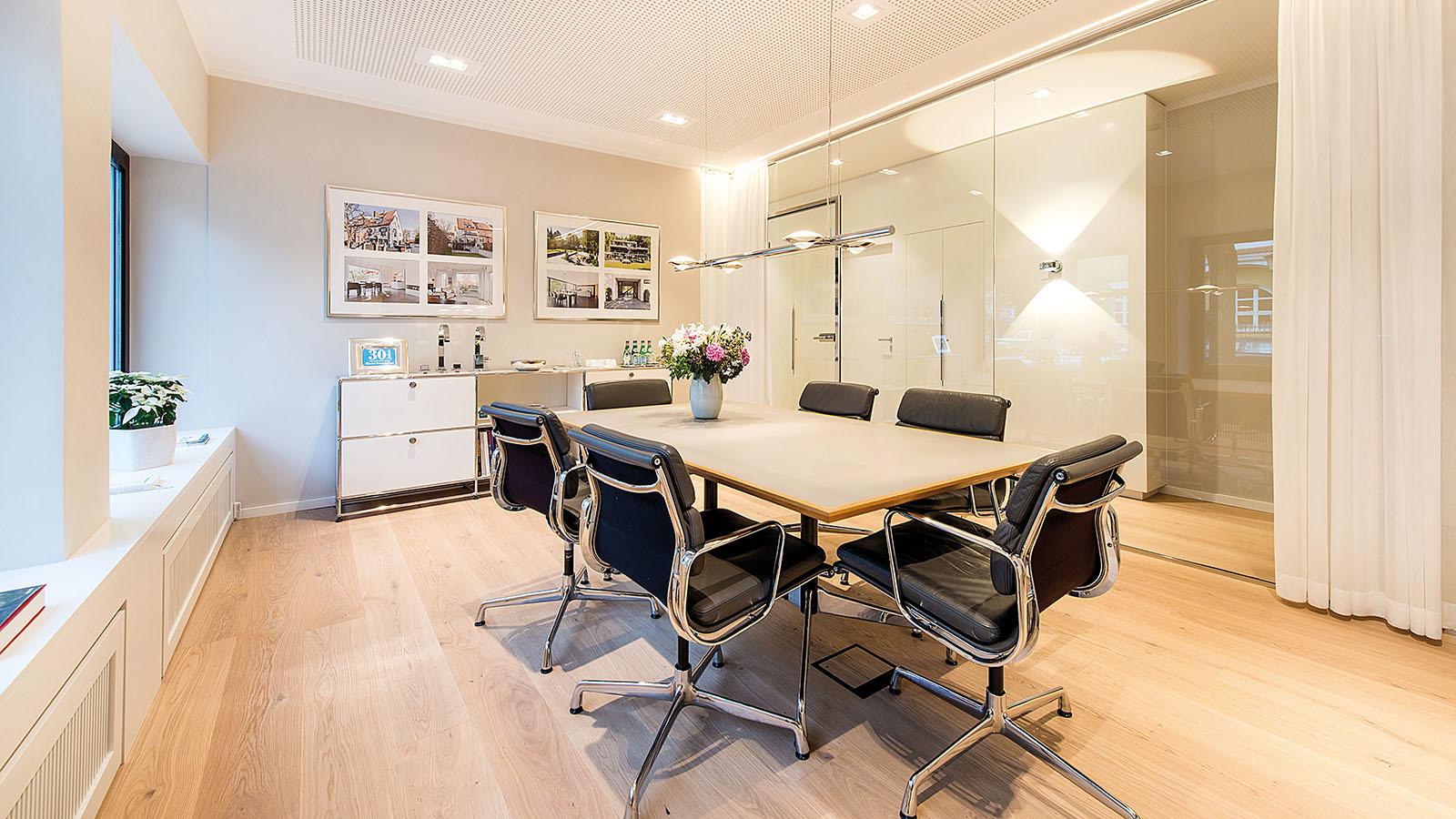 Riedel Immobilien GmbH Besprechungsraum