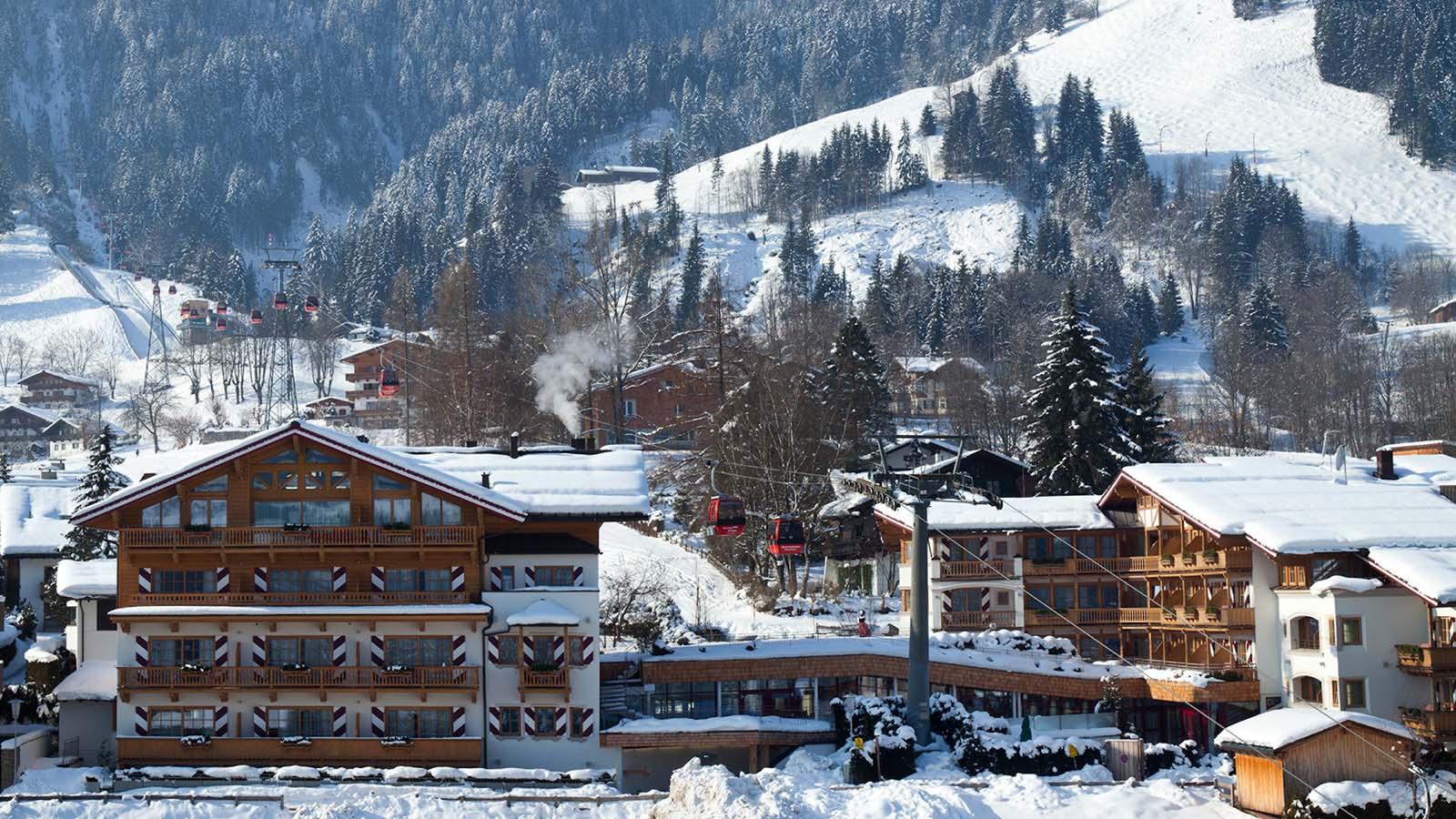 Kaiserhof außen Winter