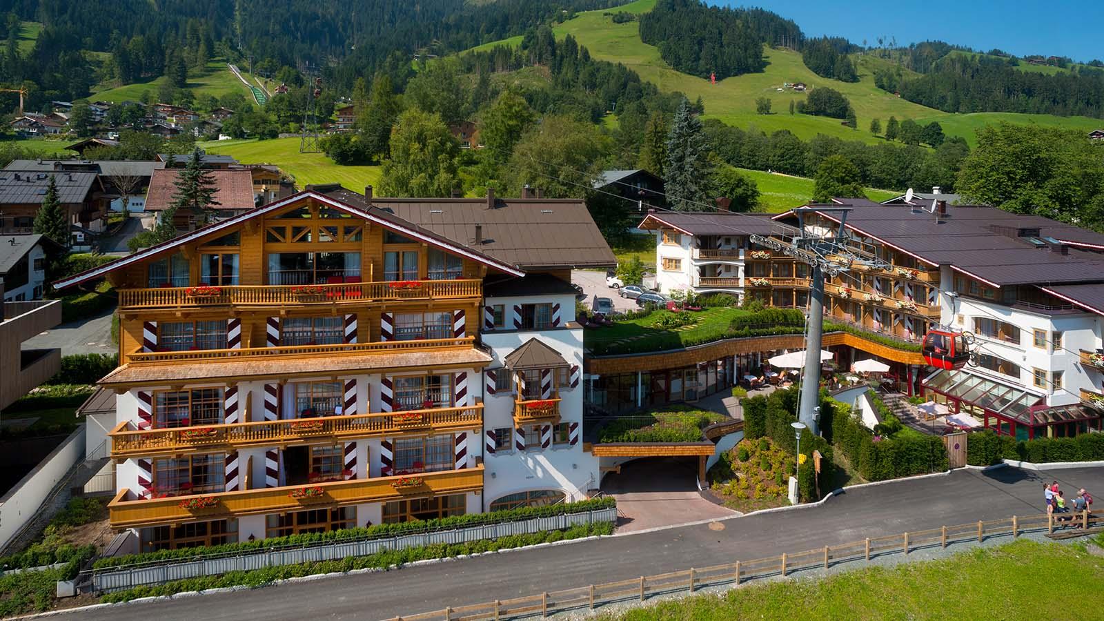Hotel Kaiserhof Kitzbühel Sommer