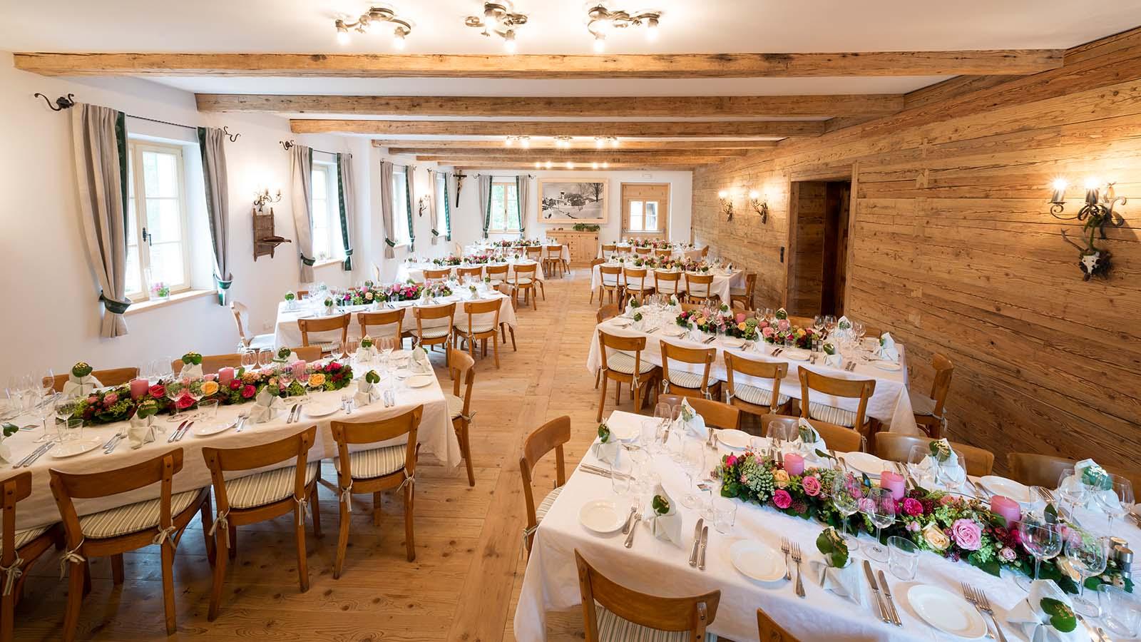Hallerwirt Festsaal Hochzeit