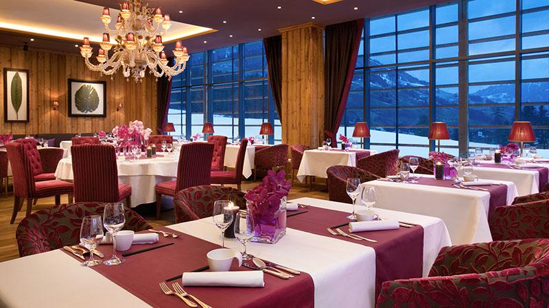 Kempinski Hotel Das Tirol Tische