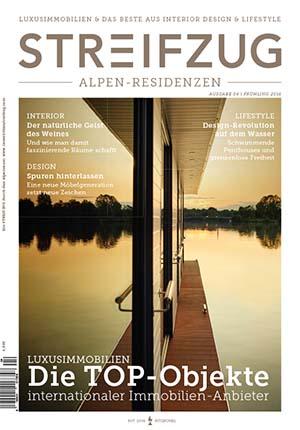Cover Alpen-Residenzen Frühling 2016