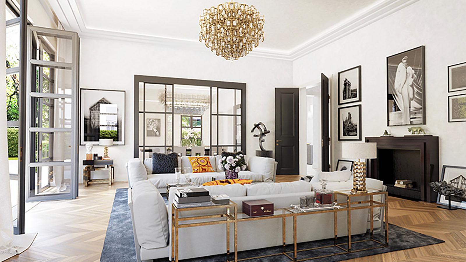 m nchen altbogenhausen einfamilien villa streifzug media gmbh. Black Bedroom Furniture Sets. Home Design Ideas