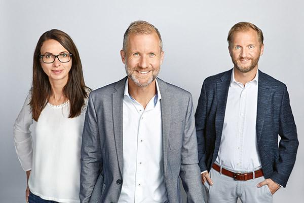 Brigitte, Hans und Andreas Aufschnaiter