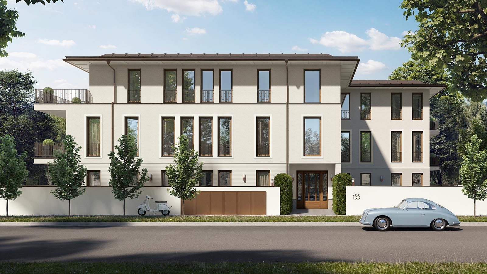 m nchen herzogpark exklusive luxus eigentumswohnungen in bogenhausen streifzug media gmbh. Black Bedroom Furniture Sets. Home Design Ideas