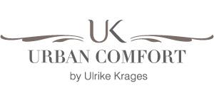 Urban Comfort by Ulrike Krages Logo weiß