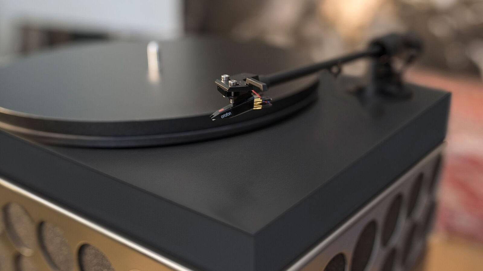 Poet Audio Phonetta Plattenspieler mit Ortofon-Nadel