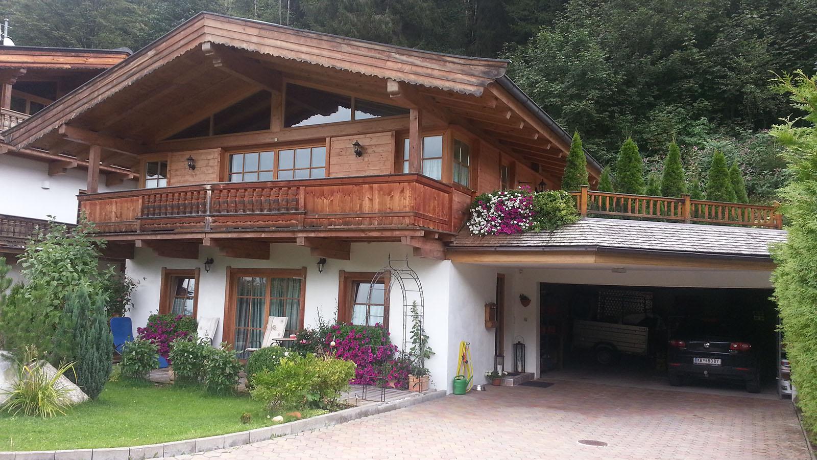 Aurach bei kitzb hel traditionelles tirolerhaus mit for Traditionelles tiroler haus