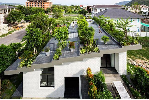 Private Dachbegrünung, Vietnam