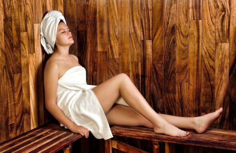 Entspannen in der heimischen Sauna