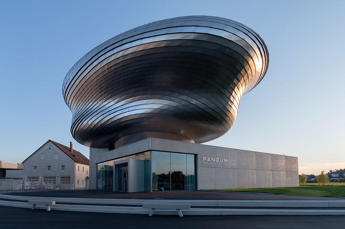 Bauherrenpreis der Zentralvereinigung der ArchitektInnen Österreichs 2018: Paneum – Wunderkammer des Brotes, Asten. Fotos: © Markus Pillhofer