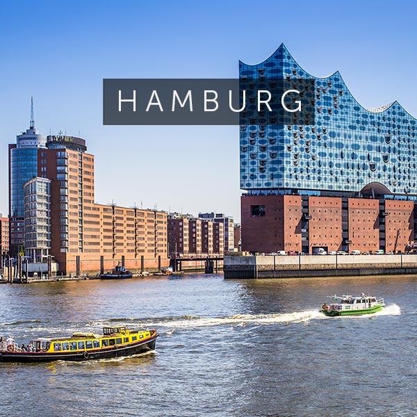 Die besten Immobilien und Stadthäuser in und rund um Hamburg