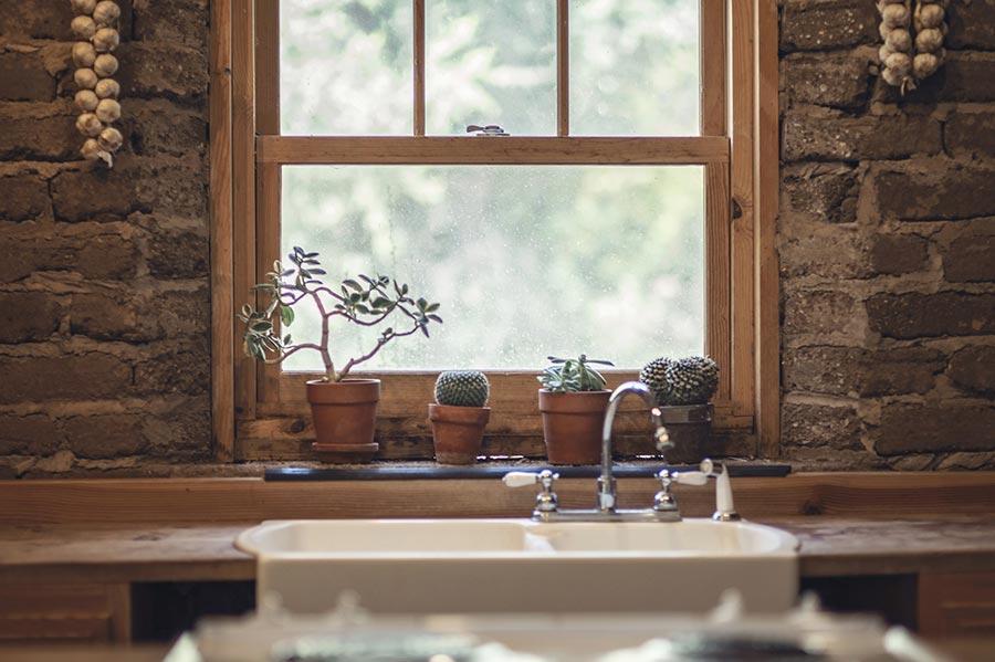 Natur pur ist Trend bei Küchengestaltung