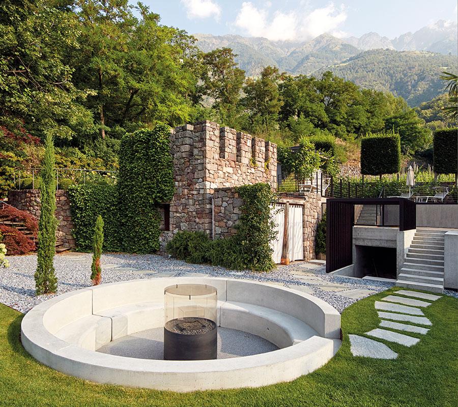 Landschaft und Gartengestaltung im DolceVita Resort Lindenhof