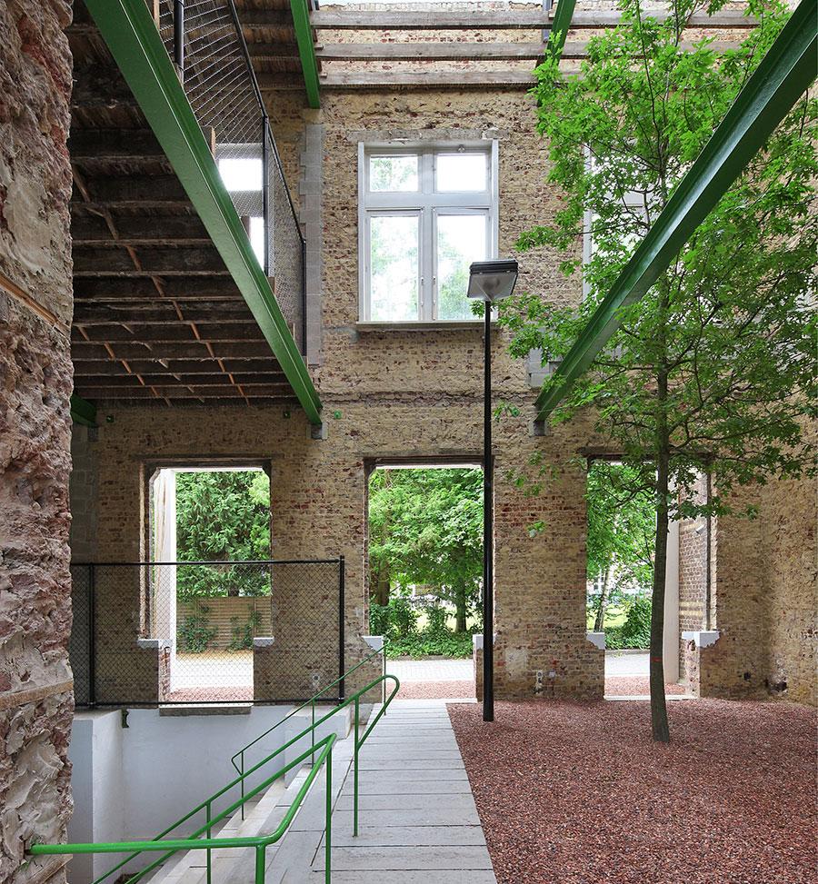 Critical Care - Ökologisch und umweltbewusst bauen - Grünflächen im Raum