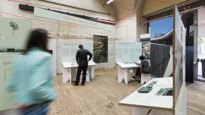 Critical Care Ausstellung über ökoligisches Bauen