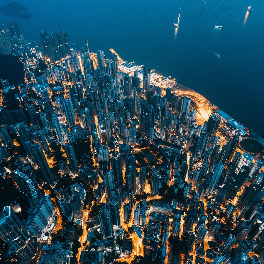 Haussmann Visuals - Städtefotografie mit professionellen Drohnen