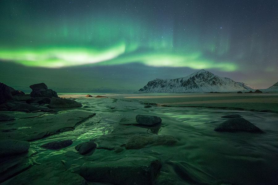 Daniel Haussmanns lieblings Motiv - die Nordlichter