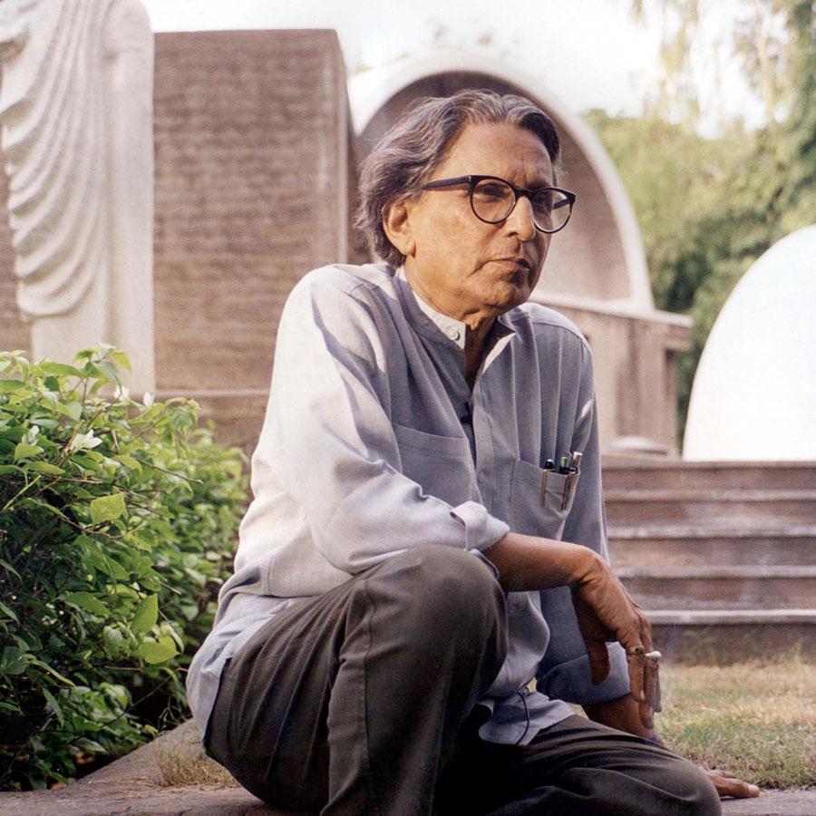 Balkrishna Doshi (92), indischer Star-Architekt, Stadtplaner und Pionier. Eine wahre Größe auf seinem Gebiet.