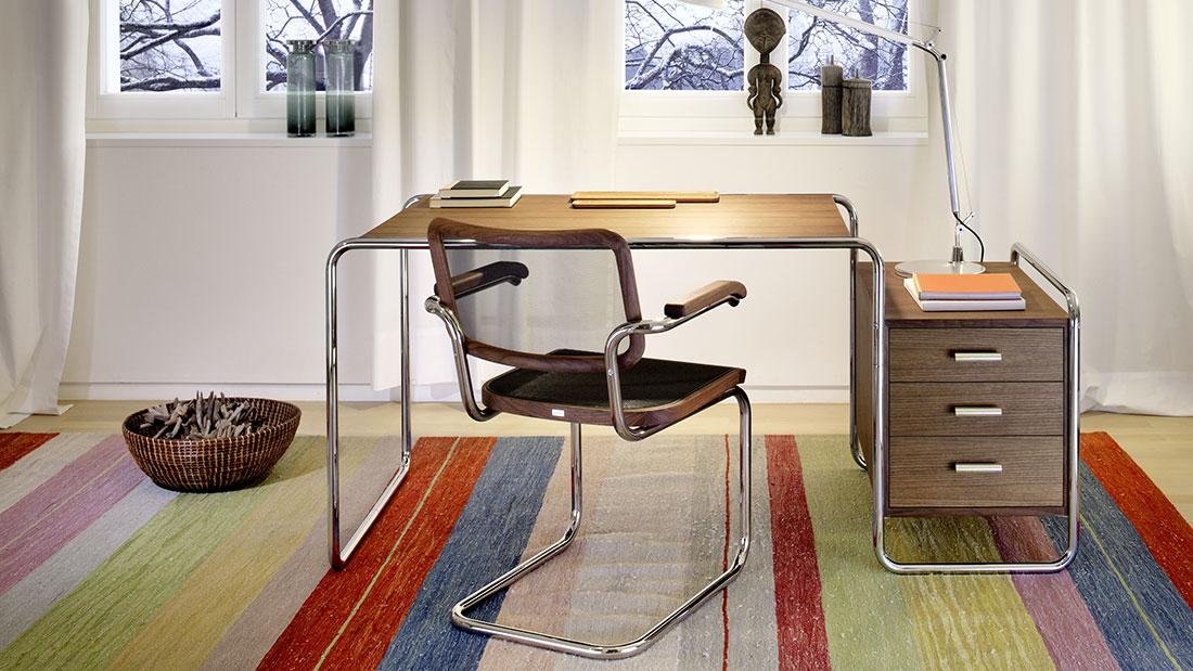 Möbel für jeden Bereich. Im Bild der S 64 von Thonet