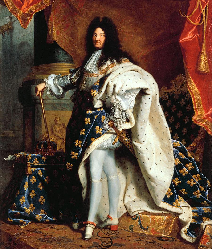 Seit jeher gilt die Farbe Blau als eine Farbe der Könige. Das wusste auch schon Ludwig XIV.