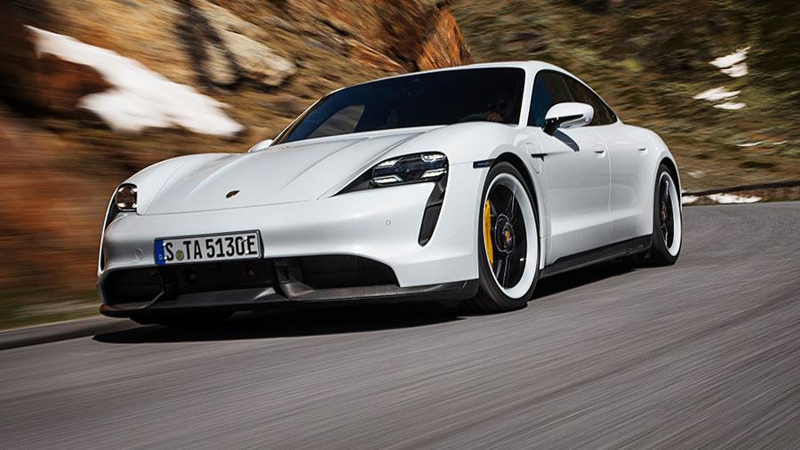 Schnell, elegant und elektrisch: Der neue Porsche Taycan