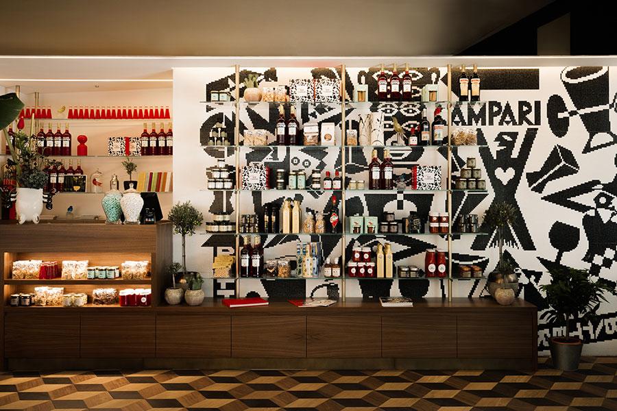 Mövenpick Store in der Schweiz von Architekten Matteo Thun