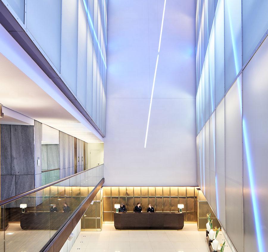 Mövenpick Eingangshalle von Architekt Matteo Thun