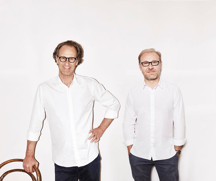 Zwei kongeniale Partner: Matteo Thun (l.) und Antonio Rodriguez. Fotos: © Nacho Alegre + Carlo Furgeri Gilbert