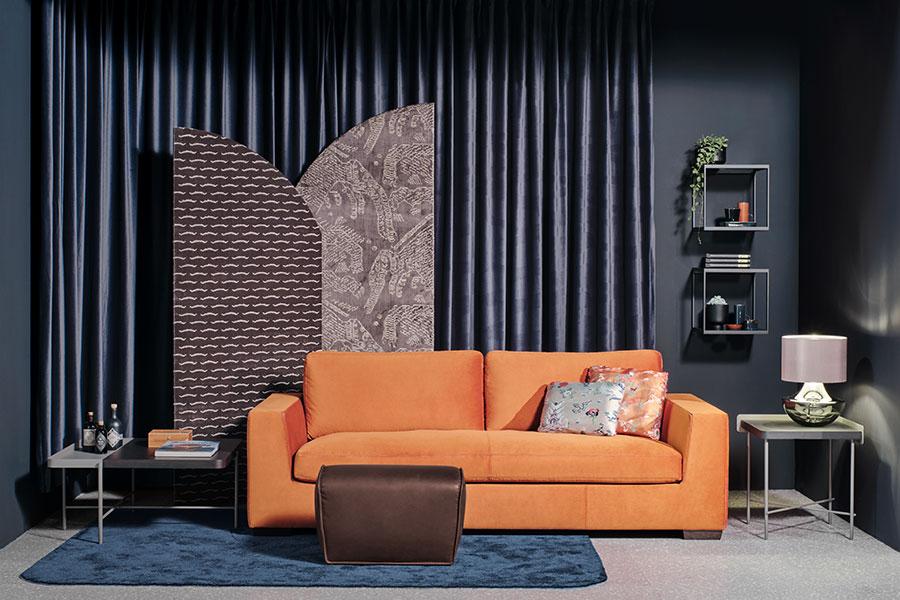 Das Münchner Einrichtungshaus Christine Kröncke macht's vor: Warme und kühle Farbkombinationen ergänzen sich perfekt.