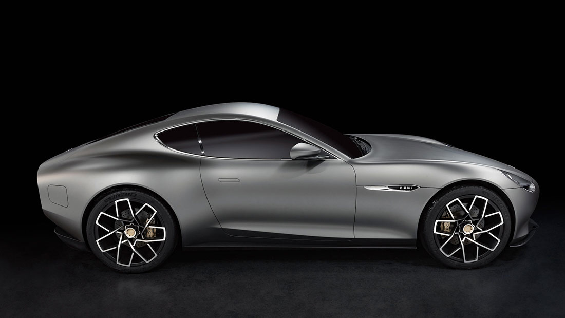 Pure Eleganz, reduced to the max. GT2 Elektro-Sportwagen von Piëch Automotive biegt auf die Zielgerade ein. Liebhaber echter, klassischer Sportwagen fiebern der Serienfertigung entgegen