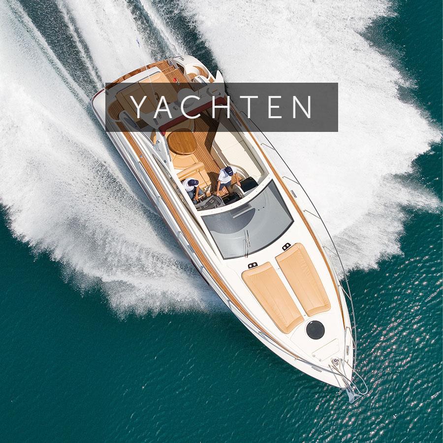 Die schönsten Yachten und Mega-Yachten und Segelboote